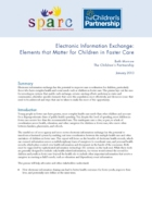 Electronic Information Exchange- Elements that Matter for Children in Foster Care_Page_01